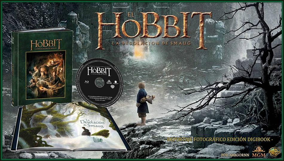 Fotografías Del Digibook De El Hobbit La Desolación De Smaug En Blu Ray
