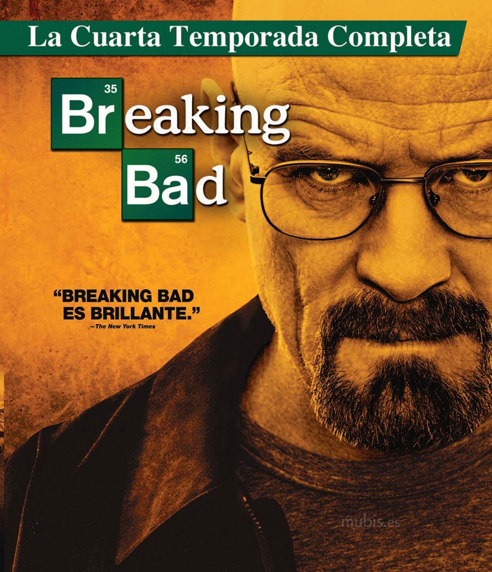 Carátula de Breaking Bad - Cuarta Temporada Blu-ray