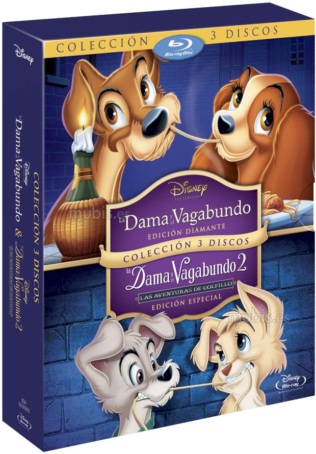 La-dama-y-el-vagabundo-1-y-2-pack-blu-ray-original