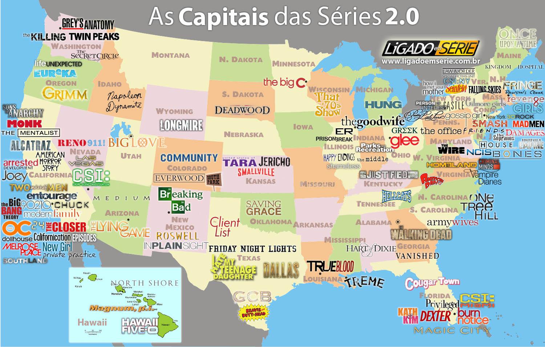 Mapa Politico De Eeuu Con Sus Estados Y Ciudades.Mapa De Usa Con Sus Estados