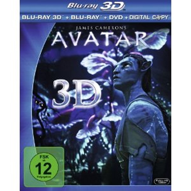 Avatar 3d blu ray edicion alemana lcover