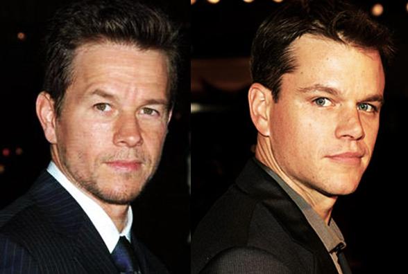 Por Que Hay Gente Que Confunde A Matt Damon Y Mark Wahlberga Quién